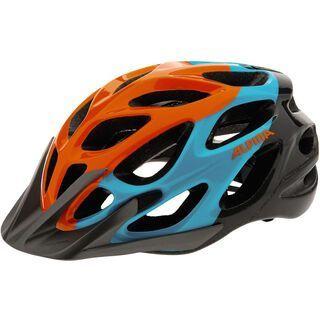 Alpina Mythos 2.0, orange-blue-titanium - Fahrradhelm