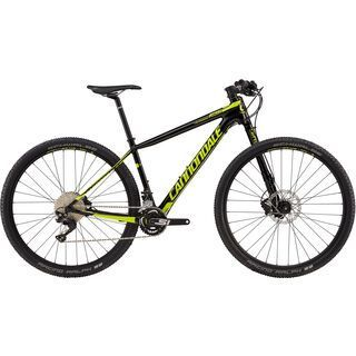Cannondale F-Si Carbon 4 27.5 2018, black/neon spring - Mountainbike