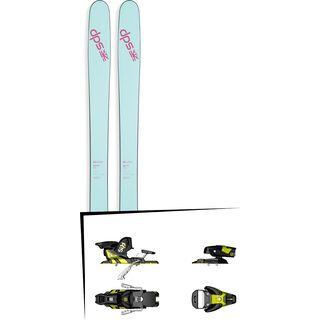 DPS Skis Set: Nina 99 Pure3 2016 + Salomon STH2 WTR 13