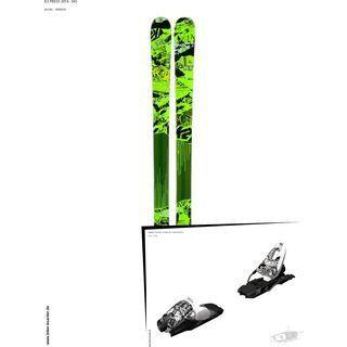 K2 SKI Set: Press 2014 + Marker 10.0 FREE