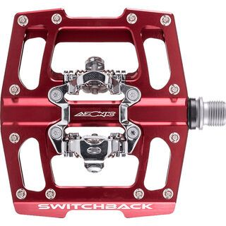 Azonic Switchback Pedal, red - Pedale