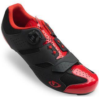 Giro Savix, bright red/black - Radschuhe