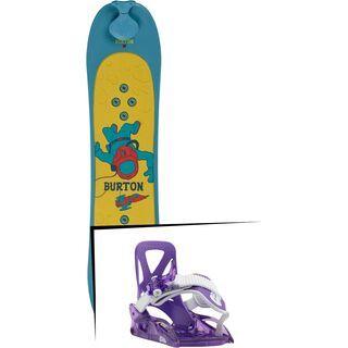 Set: Burton Riglet Board 2019 + Burton Grom purple