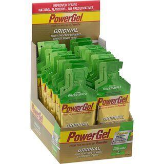 PowerBar PowerGel Original - Green Apple (mit Koffein) (Box) - Energie Gel