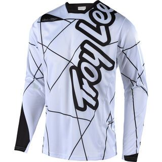TroyLee Designs Sprint Metric Jersey, white/black - Radtrikot