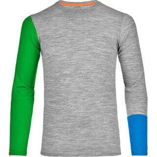 Ortovox Merino 185 Rock'n'Wool Long Sleeve, grey blend - Unterhemd