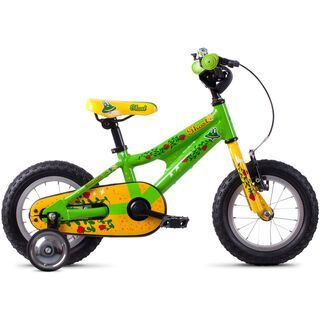 Ghost Powerkid 12 AL riot green/cane yellow/riot red 2020