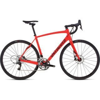 Specialized Roubaix SL4 Elite Disc 2016, red/black - Rennrad