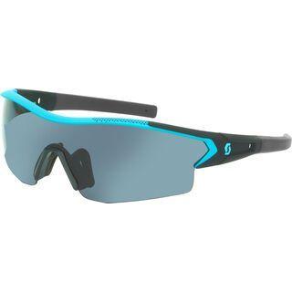 Scott Leap Sunglasses + Wechselscheibe, blue matt/Lens: grey - Sportbrille