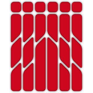 Riesel Design reflex, red - Aufkleber