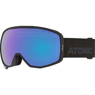 Atomic Count Photo, black/Lens: blue photo - Skibrille