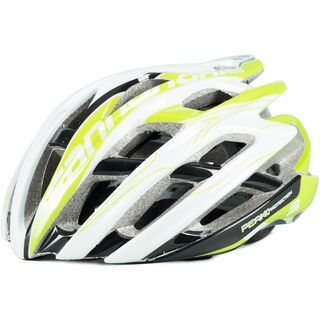 Cannondale Cypher, white green - Fahrradhelm
