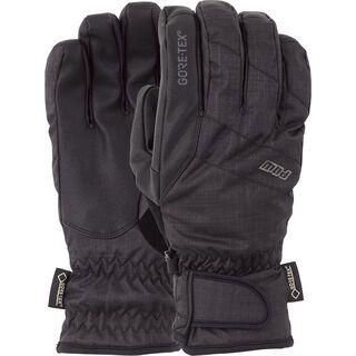 POW Gloves Warner Gore-Tex Short Glove, black - Snowboardhandschuhe