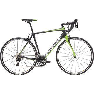 Cannondale Synapse Carbon 105 5 2016, carbon/green - Rennrad