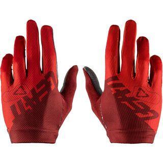 Leatt Glove DBX 1.0 with padded Palm ruby