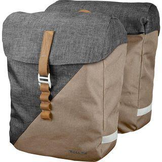 Racktime Heda (Paar), sand/grey - Fahrradtasche