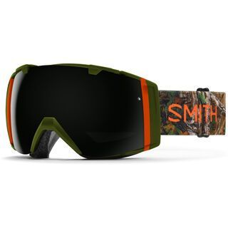Smith I/O inkl. Wechselscheibe, lago id/Lens: blackout - Skibrille