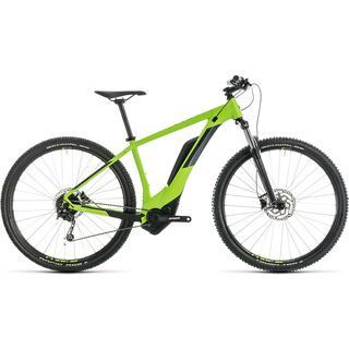 *** 2. Wahl *** Cube Reaction Hybrid ONE 400 29 2019, green´n´iridium - E-Bike | Größe 17 Zoll