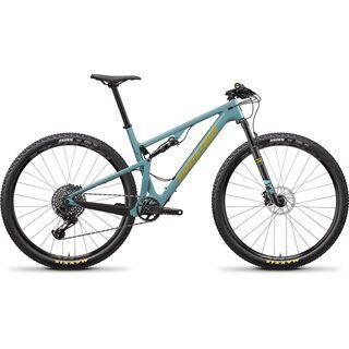 Santa Cruz Blur C S 2020, aqua/yellow - Mountainbike