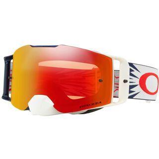 Oakley Front Line MX Prizm, red navy/Lens: prizm mx torch iridium - MX Brille