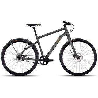 Ghost Square Urban 3 2017, grey/black - Urbanbike