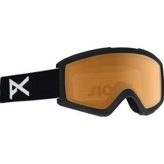 Anon Helix 2.0, black/Lens: amber - Skibrille