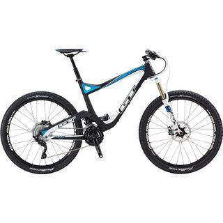 GT Sensor Carbon Pro 27.5 2015, raw/white/blue - Mountainbike