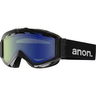 Anon Figment, Black/Blue Lagoon - Skibrille