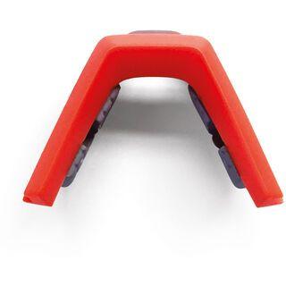 100% Speedcraft Nose Bridge Short Lens, white/orange - Ersatzteil