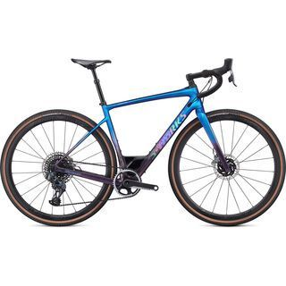 Specialized S-Works Diverge 2020, sunset chameleon/holographic - Gravelbike