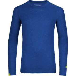 Ortovox 105 Merino Ultra Long Sleeve M, strong blue - Unterhemd