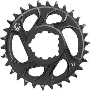 SRAM Eagle X-Sync 2 Kettenblatt - 3 mm Offset, Boost, black