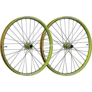 Spank Oozy Trail 395+ Wheelset 29 Plus, emerald green - Laufradsatz