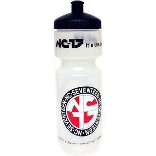 NC-17 Trinkflasche, clear/red/black