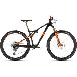Cube AMS 100 C:68 TM 29 2019, grey´n´orange - Mountainbike