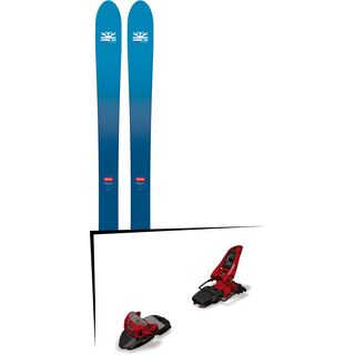 Set: DPS Skis Wailer F106 Foundation 2018 + Marker Squire 11 red