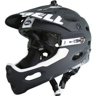 Bell Super 2R, matte black/white viper - Fahrradhelm