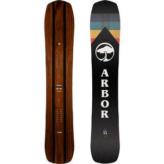Arbor A-Frame Mid Wide 2020 - Snowboard