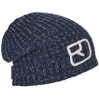 Ortovox Melange Beanie, night blue blend - Mütze