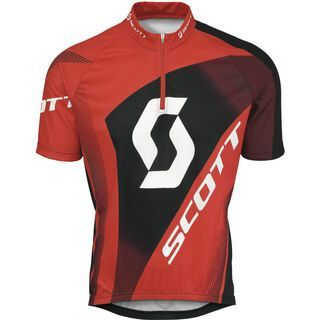 Scott Shirt Authentic s/sl, red - Radtrikot