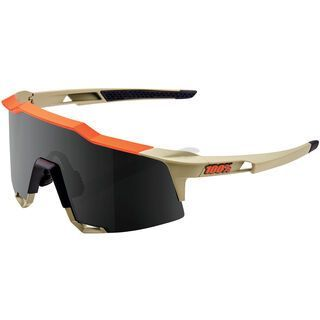 100% Speedcraft Tall inkl. WS, soft tact quicksand/Lens: smoke - Sportbrille