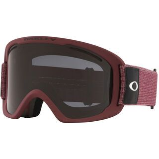 Oakley O Frame 2.0 Pro XL + WS, heathered grenache/Lens: dark grey - Skibrille