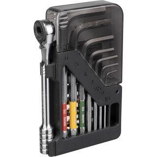 Topeak Omni ToolCard - Ratsche / Innensechskant-Schlüsselsatz