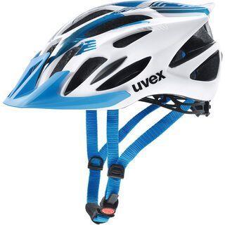 uvex flash, white blue - Fahrradhelm