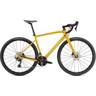 Specialized Diverge Sport Carbon 2021, yellow/chrome/clean - Gravelbike