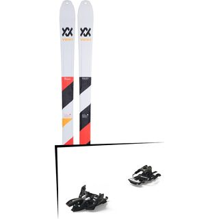 Set: Völkl VTA 88 Lite 2019 + Marker Alpinist 12 Long Travel black/titanium