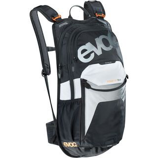 Evoc Stage Team 12l, black-white-neon orange - Fahrradrucksack