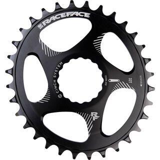 Race Face Direct Mount Cinch Narrow Wide Oval - 10/11/12-fach black