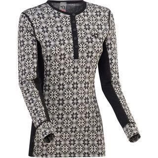Kari Traa Rose LS, black - Unterhemd