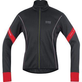 Gore Bike Wear Power 2.0 Windstopper SO Jacke, black red - Radjacke